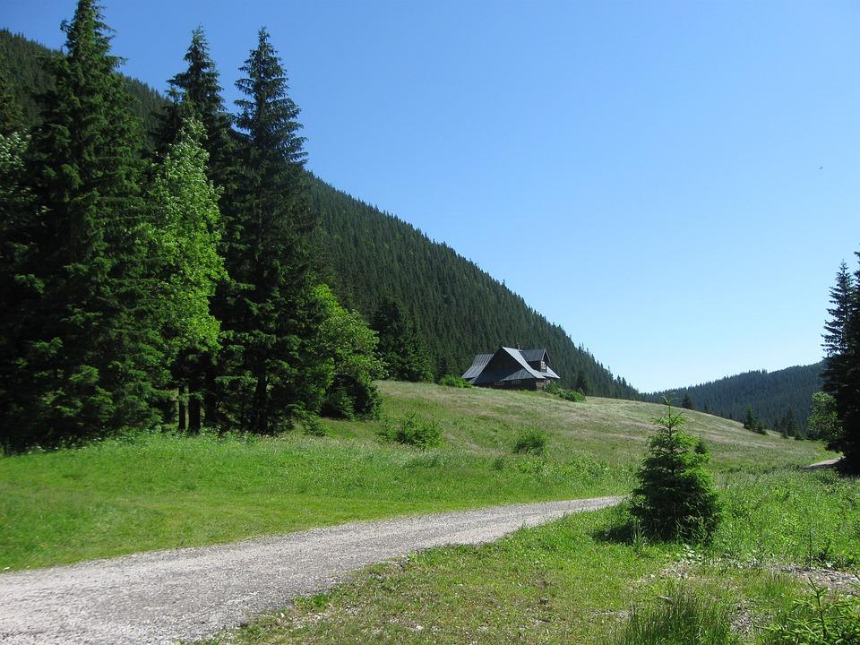 chata v Krkonoších