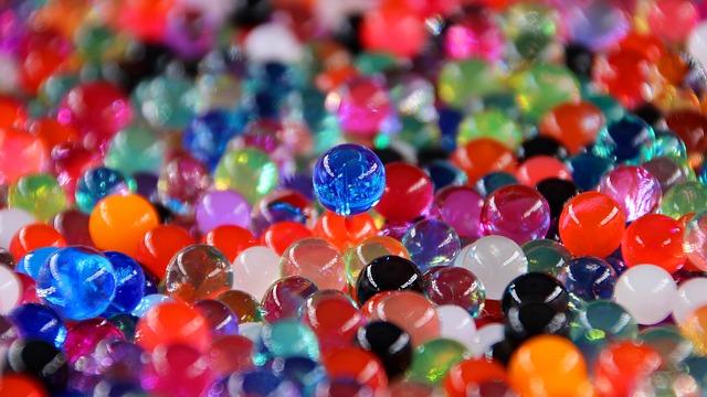skleněné korálky
