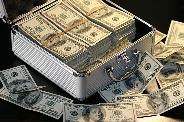kufr na bankovky