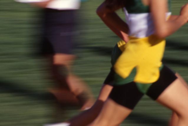nekonečná energie závodních běžců